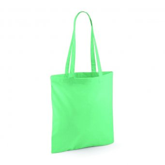 tote bag long handles mint