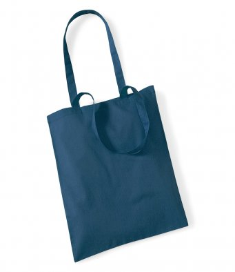 tote bag long handles petrol