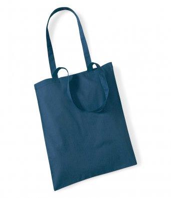 tote bag long handles petrol