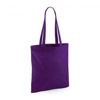tote bag long handles plum