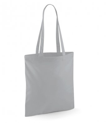 tote bag long handles puregrey
