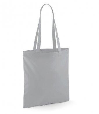 tote bag long handles puregrey