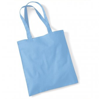 tote bag long handles sky