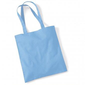tote bag long handles sky