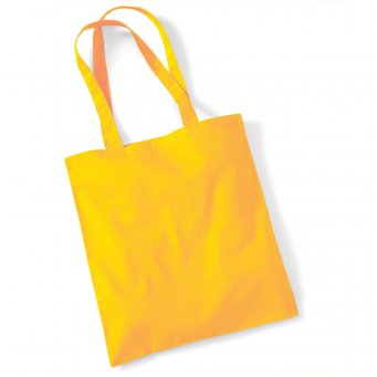 tote bag long handles sunflower