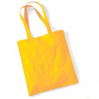 tote bag long handles sunflower