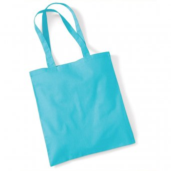 tote bag long handles surfblue