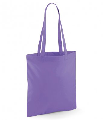 tote bag long handles violet