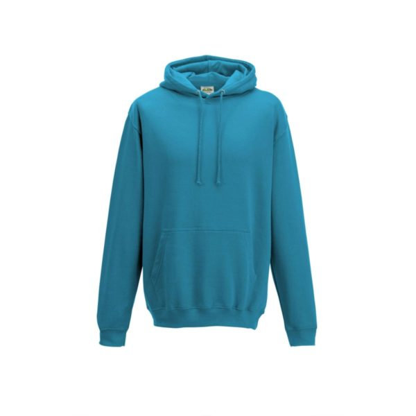turquoise surf college hoodie