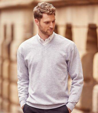 v neck sweatshirts