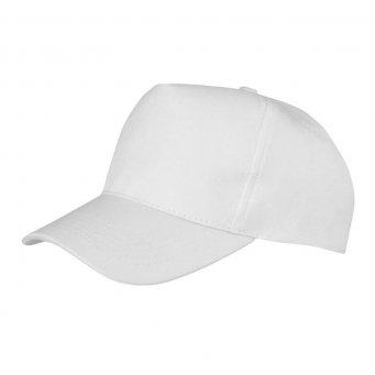 white promotional caps