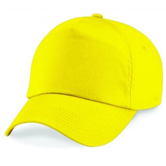yellow classic cap