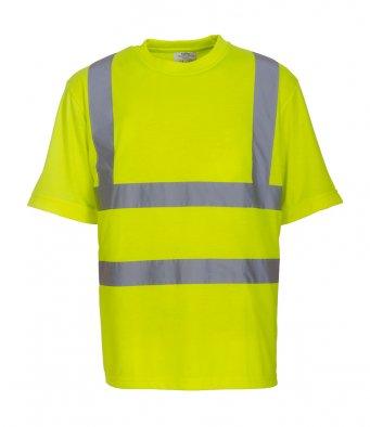 yellow hi vis t shirt