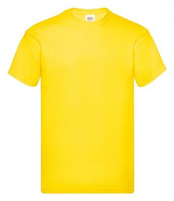 yellow promotional t shirt