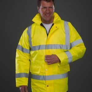 yk202 hi vis motorway jacket