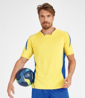 embroidered football shirt