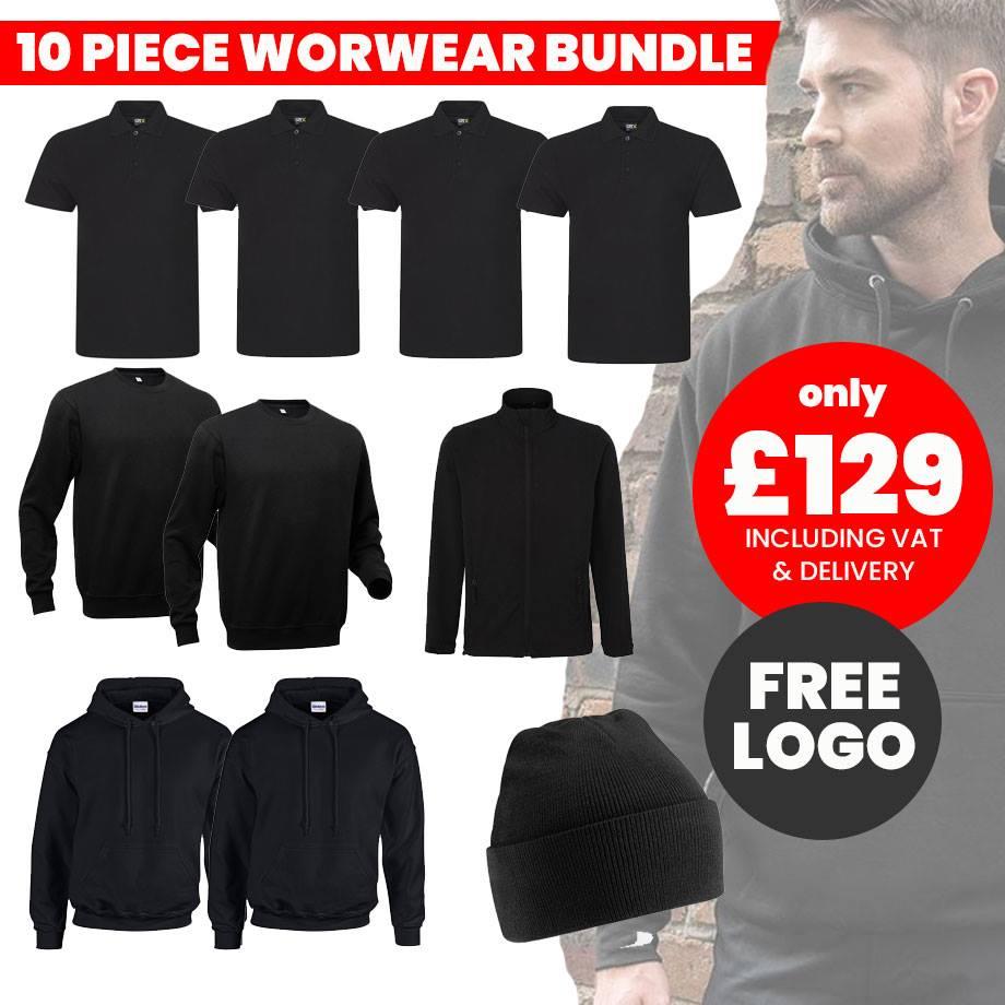 10pc workwear bundle 129