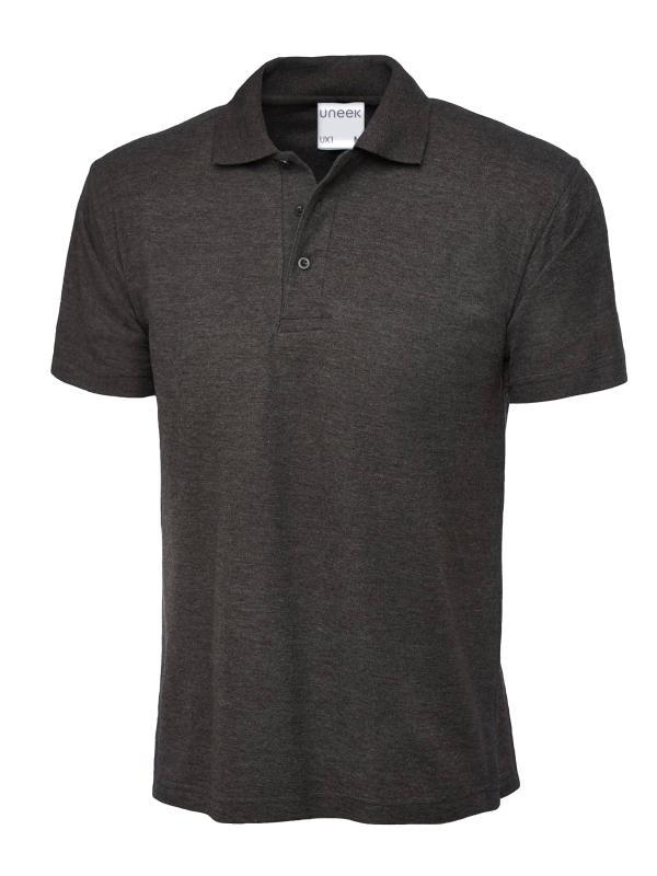 polo shirt ux1 charcoal