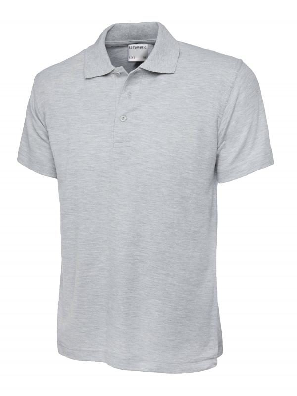 polo shirt ux1 heather grey