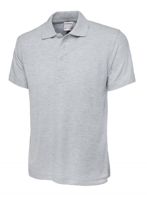 polo shirt ux1 heather grey