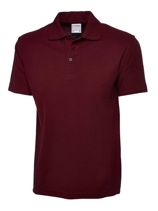 polo shirt ux1 maroon