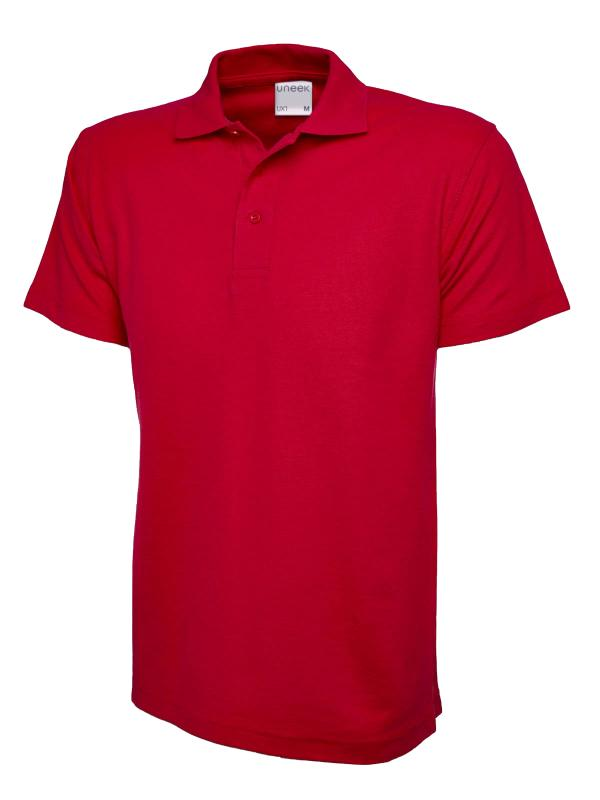 polo shirt ux1 red
