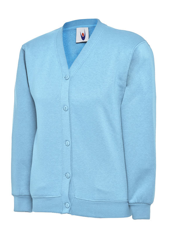 Childrens Cardigan UC207 sky