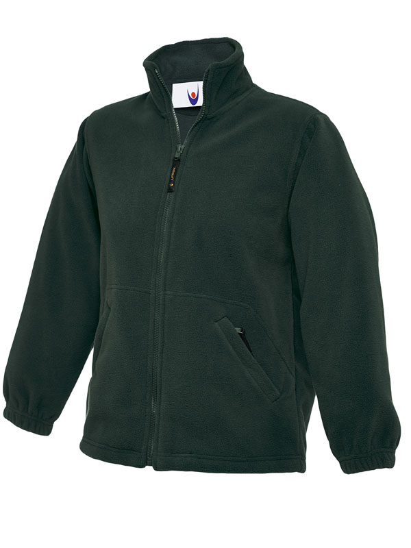Childrens Full Zip Micro Fleece Jacket bg