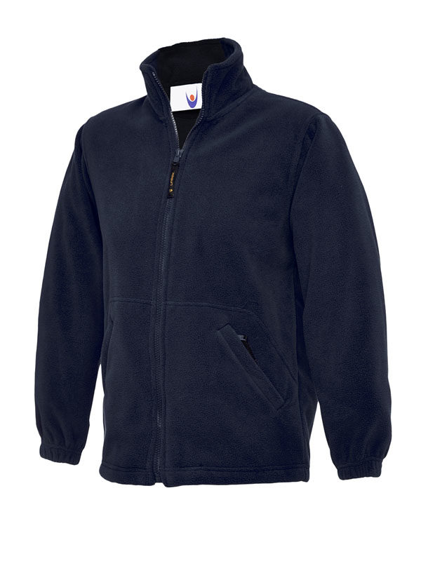 Childrens Full Zip Micro Fleece Jacket nv