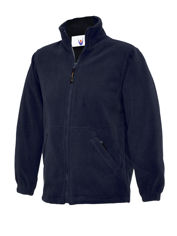 Childrens Full Zip Micro Fleece Jacket nv