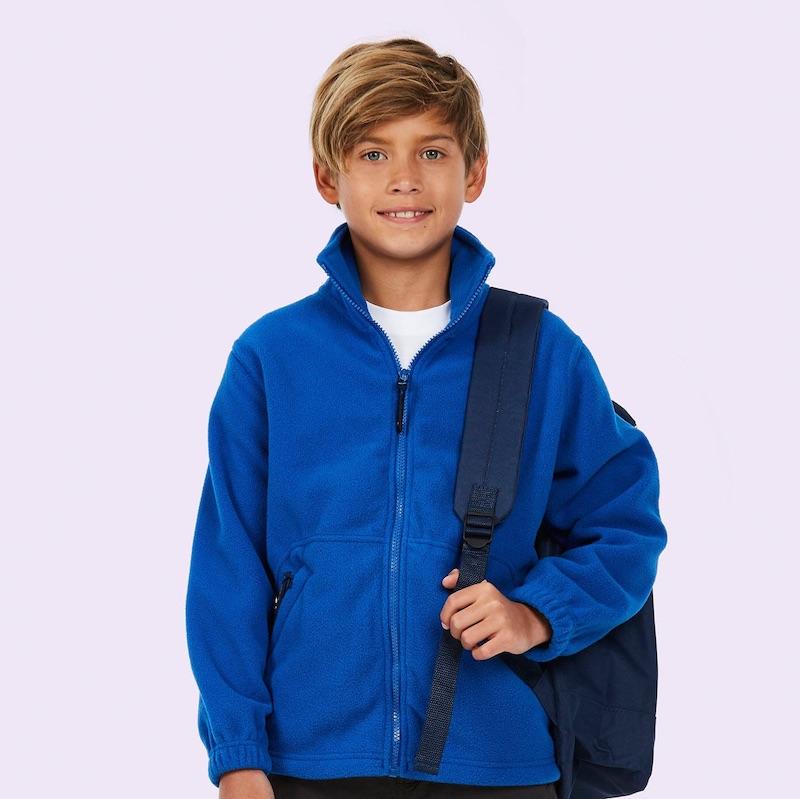 Childrens Full Zip Micro Fleece Jacket
