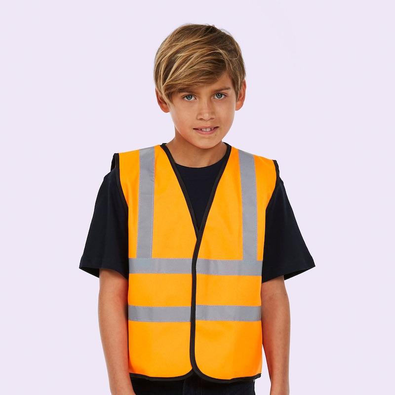 Childrens Hi Viz Waist Coat UC806