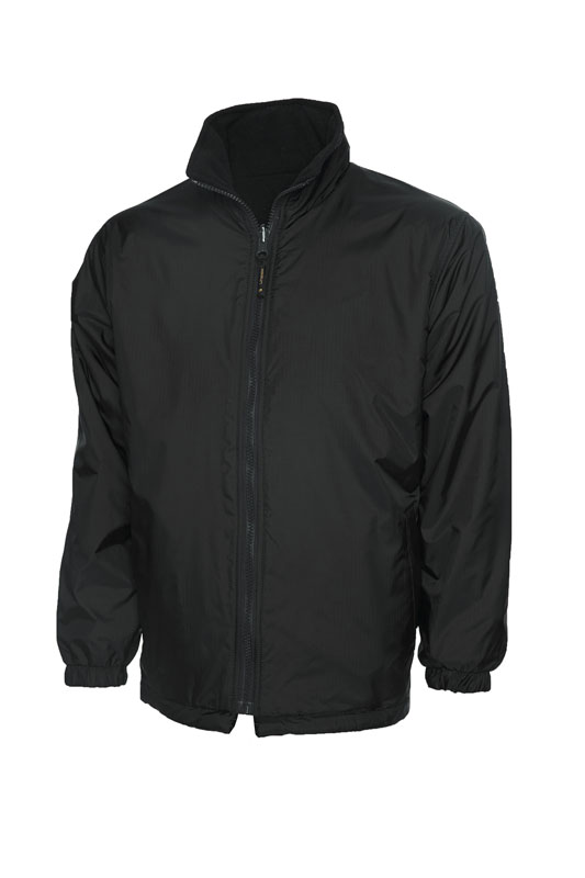 Childrens Reversible Fleece Jacket bk