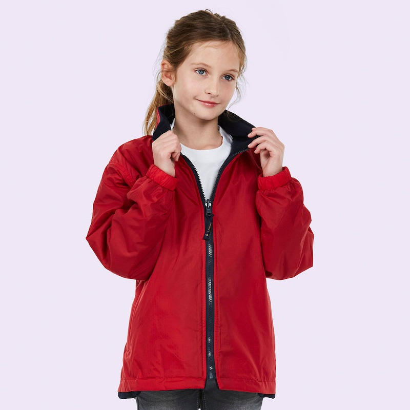 Childrens Reversible Fleece Jacket