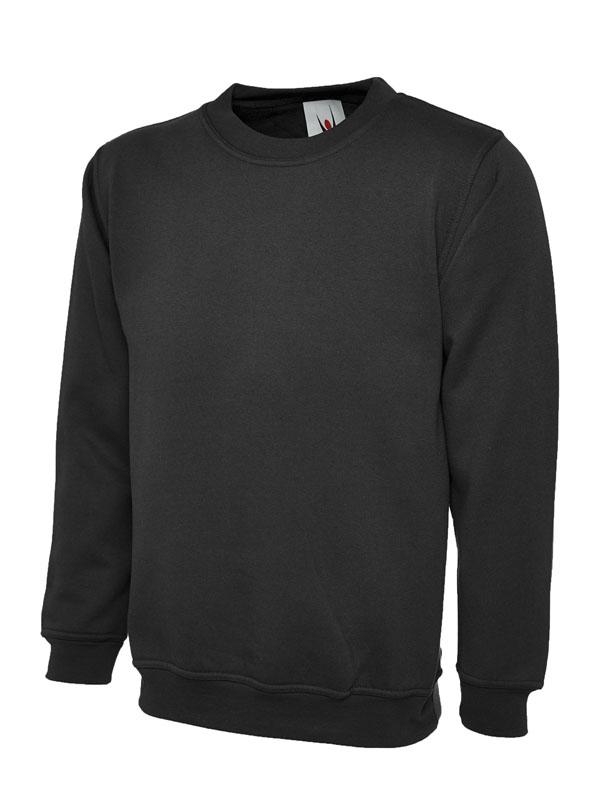 Childrens Sweatshirt UC202 Black