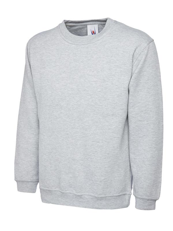 Childrens Sweatshirt UC202 heather grey