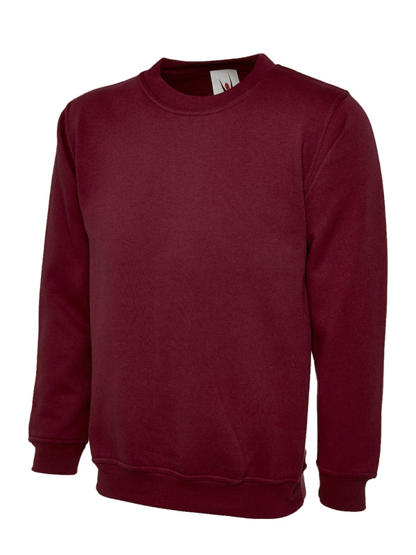 Childrens Sweatshirt UC202 maroon