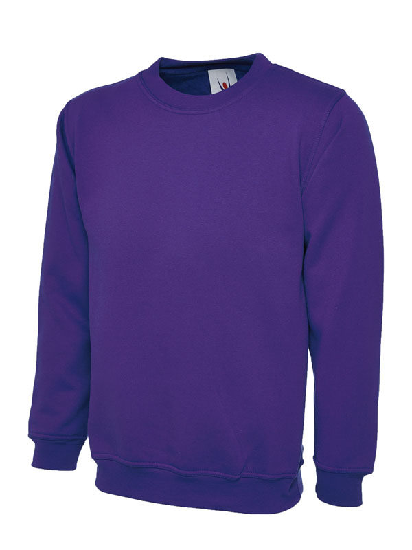 Childrens Sweatshirt UC202 purple