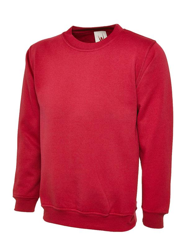 Childrens Sweatshirt UC202 red