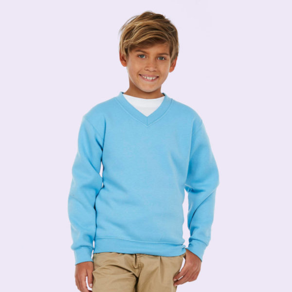 Childrens V Neck Sweatshirt UC206