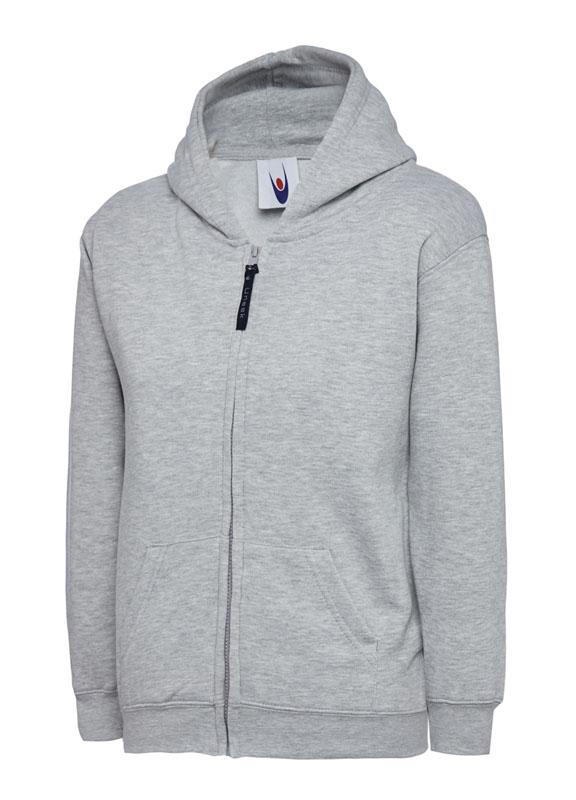 Childrens Zip Sweatshirt UC506 hg