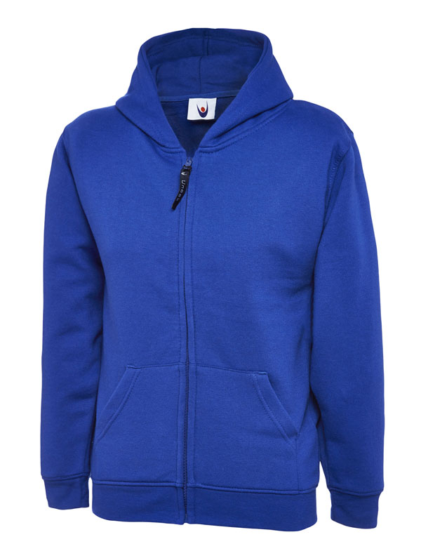 Childrens Zip Sweatshirt UC506 royal