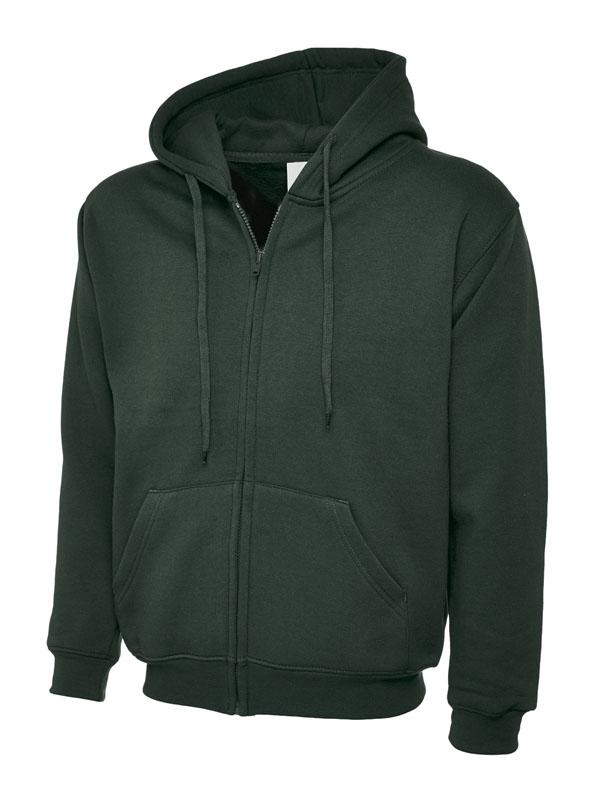 Classic Full Zip Hooded Sweatshirt UC504 bg