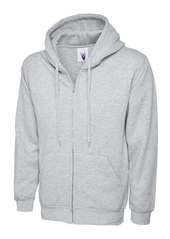 Classic Full Zip Hooded Sweatshirt UC504 hg