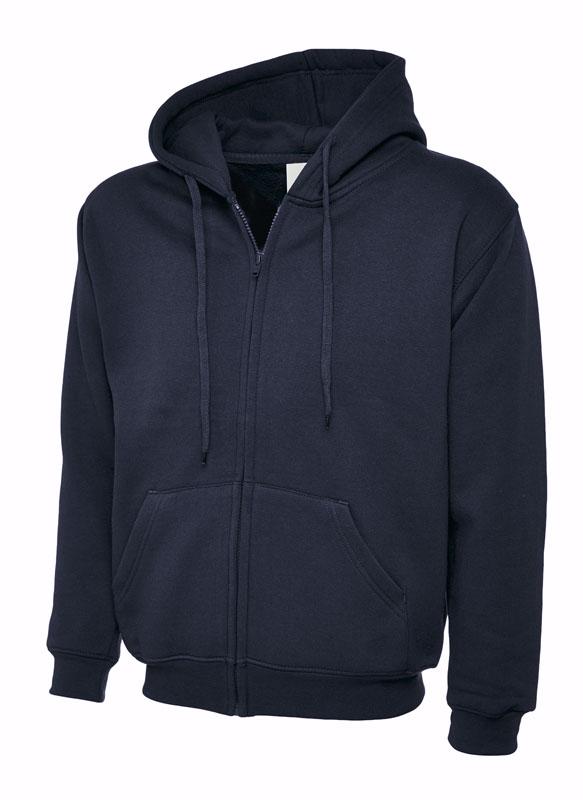 Classic Full Zip Hooded Sweatshirt UC504 nv