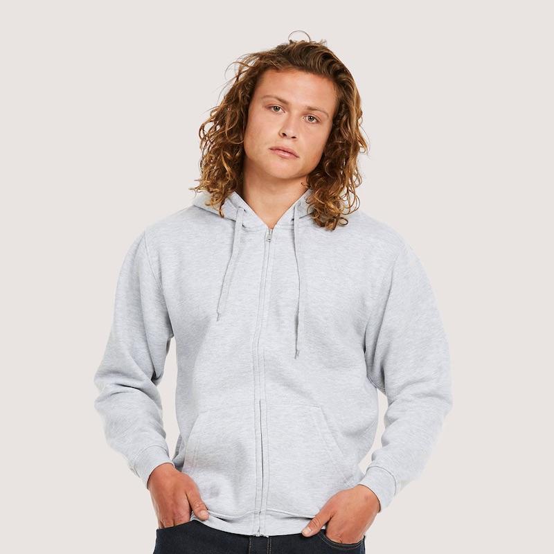 Classic Full Zip Hooded Sweatshirt UC504