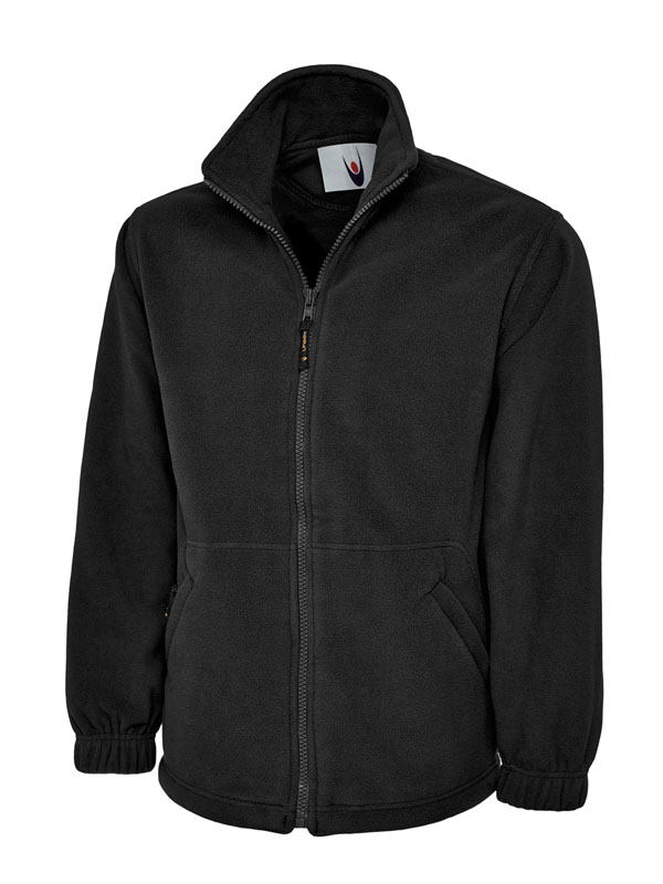 Classic Full Zip Micro Fleece Jacket bk
