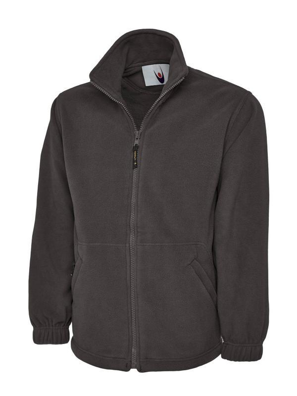 Classic Full Zip Micro Fleece Jacket charcoal