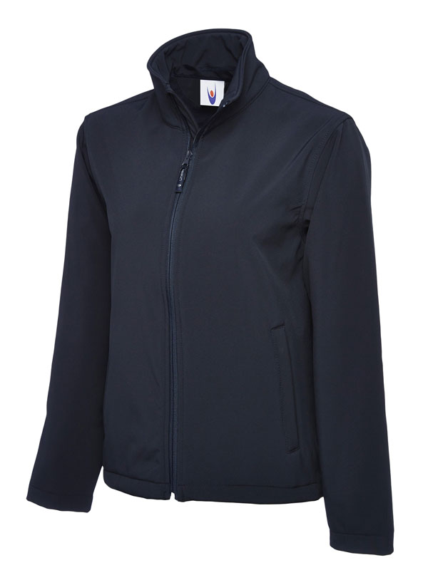 Classic Full Zip Soft Shell Jacket UC612 n