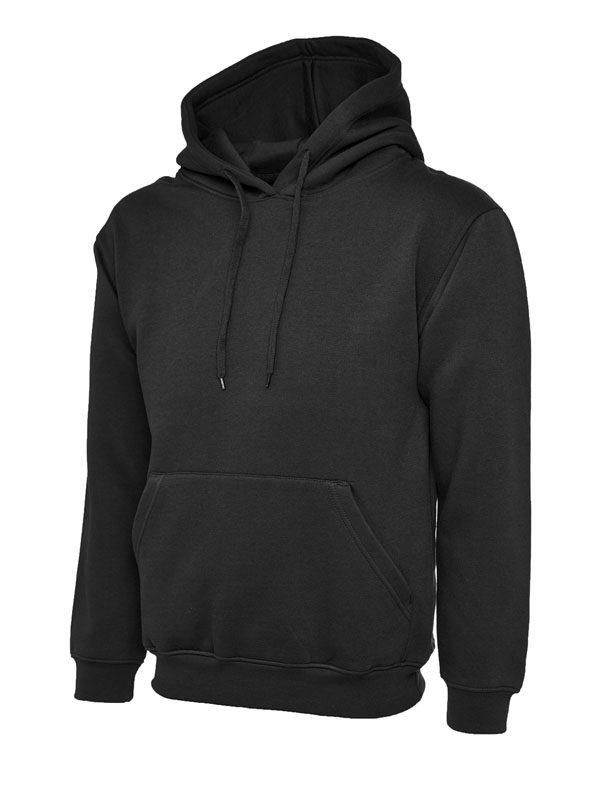 Classic Hooded Sweatshirt UC502 bk